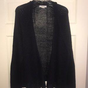 Dark purple knit sweater